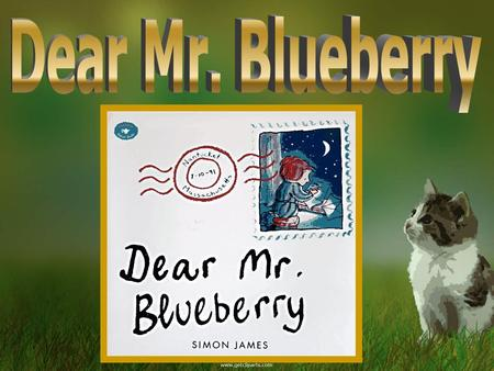 Dear Mr. Blueberry.