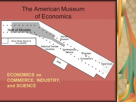 The American Museum of Economics ECONOMICS as COMMERCE, INDUSTRY, and SCIENCE.