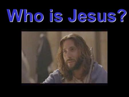 Who is Jesus?. Black The Iranian Jesus Religious Perspectives on Jesus.
