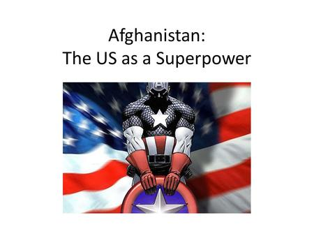 the conflict of the superpowers Superpower is a term used to describe a state with a dominant position additionally, much of the conflict between the superpowers was fought in proxy wars.