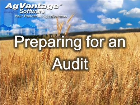 Separating out your G/L accts to make documenting easier Troubleshooting if your reports arent balancing to our ledger Check list for EOY report that.