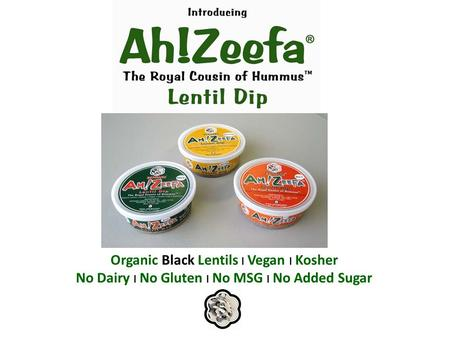 Organic Black Lentils l Vegan l Kosher No Dairy l No Gluten l No MSG l No Added Sugar.