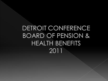 VISION: To Honor the Whole of Human Health MISSION: In a spirit of individual & connectional responsibility, the Detroit CBOPHB seeks to strengthen all.