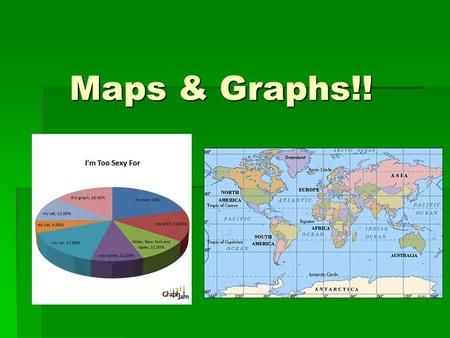 Maps & Graphs!!. What is a graph? A diagram that exhibits a relationship, often functional, between two sets of numbers as a set of points having coordinates.