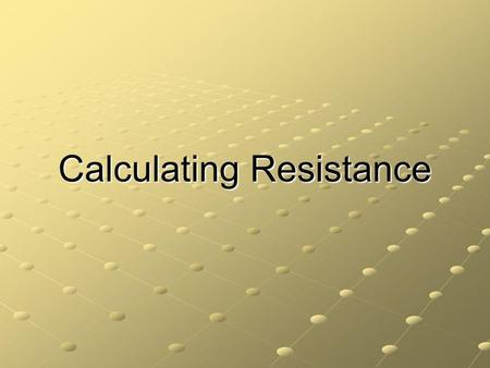 Calculating Resistance. Ohm's Law Ohm's law is an assertion that the current through a device is always directly proportional to the potential difference.