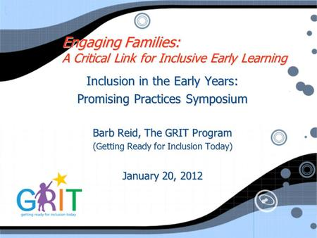 Engaging Families: A Critical Link for Inclusive Early Learning