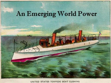 An Emerging World Power