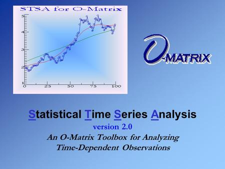 Statistical Time Series Analysis version 2