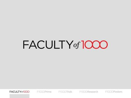 OVERVIEW OF FACULTY OF 1000'S SERVICES