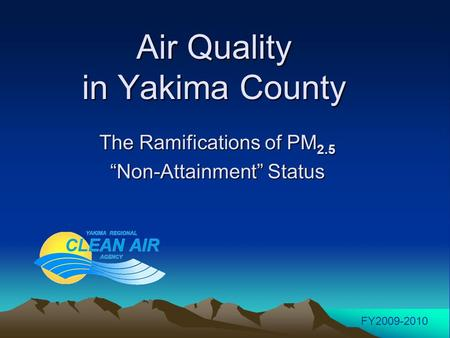 Air Quality in Yakima County