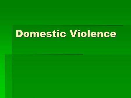 Domestic Violence. WARNING SIGNS Many of the signs women are taught to Interpret as caring, attentive, and romantic are actually early warning signs for.
