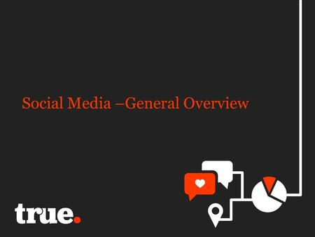 Social Media –General Overview. Social media is..