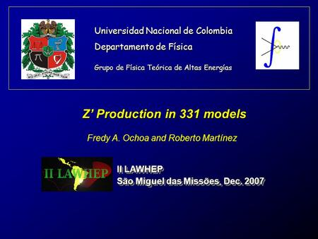 Z' Production in 331 models