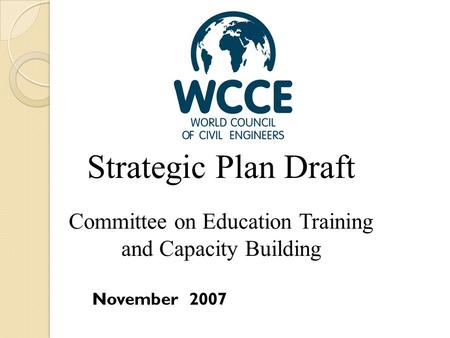 Committee on Education Training and Capacity Building