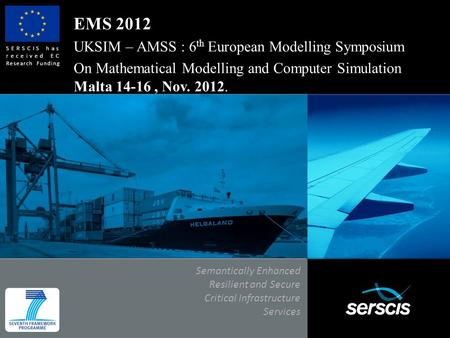 EMS 2012 UKSIM – AMSS : 6th European Modelling Symposium