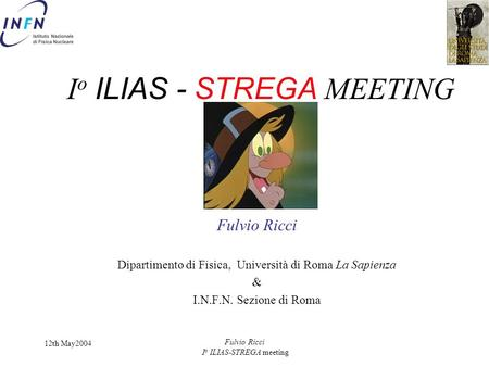 Io ILIAS - STREGA MEETING