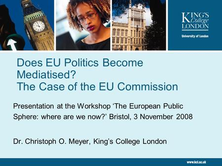 Does EU Politics Become Mediatised? The Case of the EU Commission
