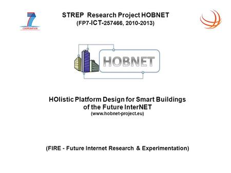 HOlistic Platform Design for Smart Buildings