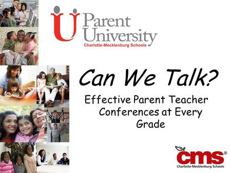 Can We Talk? Effective Parent Teacher Conferences at Every Grade.