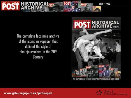 The complete facsimile archive of the iconic newspaper that defined the style of photojournalism in the 20 th Century 1938 - 1957.