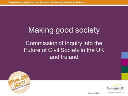 How does the Inquiry connect to Social Capital and Big society?