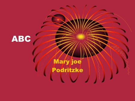ABC Mary joe Podritzke. A Affe Affe Anne AnneAnna.