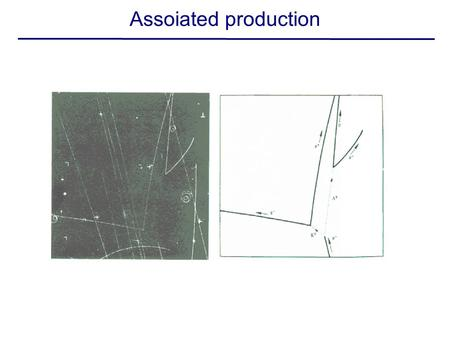 Assoiated production. Hyperon photoproduction Lambda polarization normal to production plane (parity!!) weak decay: