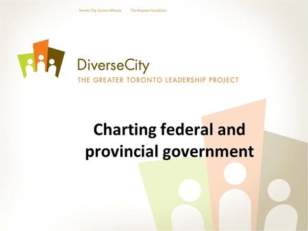Charting federal and provincial government. The Federal Overview.