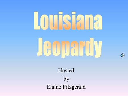 important people in louisiana history ppt video online