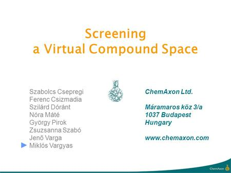 a Virtual Compound Space
