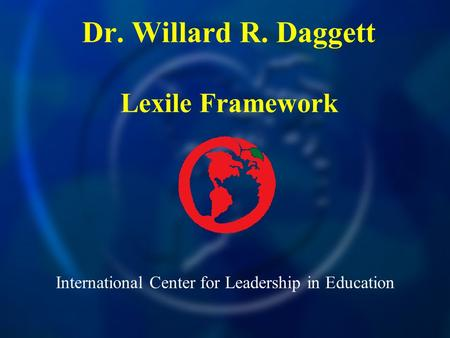 International Center for Leadership in Education