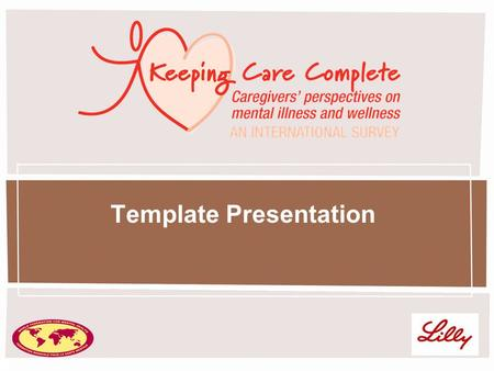1 Template Presentation. 2 Welcome and Introduction [Insert name and affiliation of presenter]