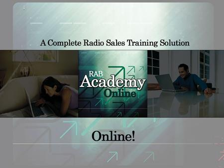 RABs highly-acclaimed Radio training is now … Online! presented by mark levy – or