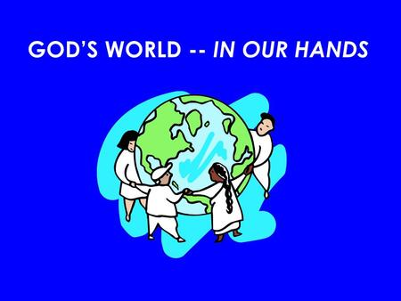 GODS WORLD -- IN OUR HANDS. For years, Haiti has been devastated by hurricanes, flooding, political violence and a major earthquake. Already a country.