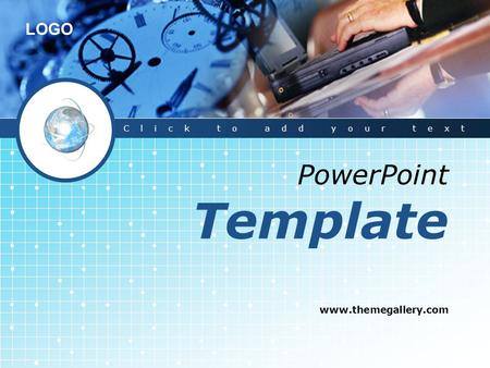 Click to add your text PowerPoint Template www.themegallery.com.