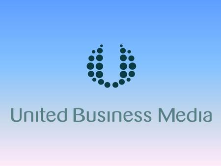 United Business Media 2 Turnover Operating profit* Earnings per share* Net cash Key Financials Key Financials Twelve months to 31 December * Before exceptionals.