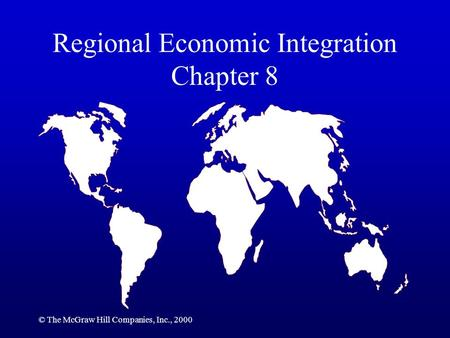 regional economic intergration 'this book explores a central issue of the world economy today: the role of  regional integration for economic development and global governance.