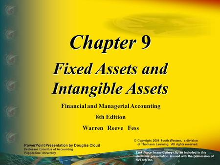 Fixed Assets and Intangible Assets Financial and Managerial Accounting