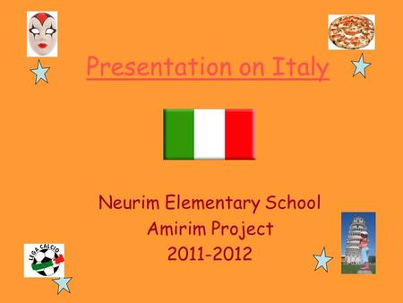 Neurim Elementary School Amirim Project