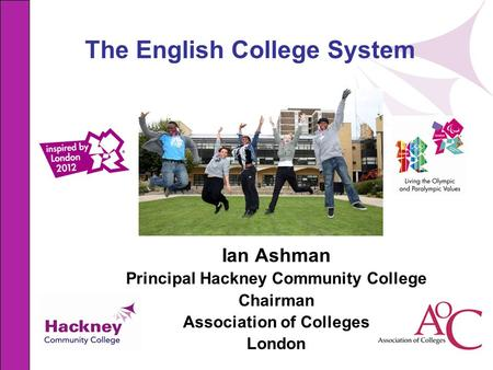 The English College System