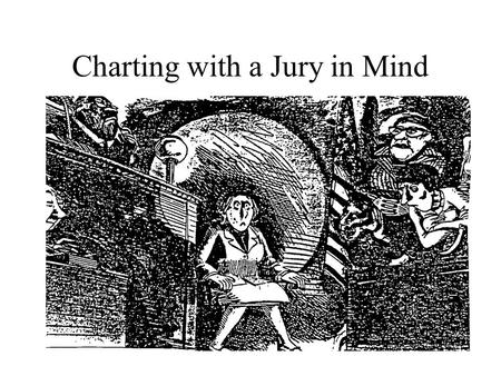 Charting with a Jury in Mind. Objectives Identify common charting errors that can make you legally vulnerable Describe proper charting techniques to show.