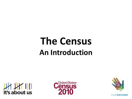 an introduction to the census 2000 This brochure provides a brief introduction to the information available from  census 2000, census 2000 geography, maps, and data products visit our web  site.