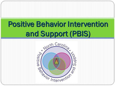 Positive Behavior Intervention and Support (PBIS)
