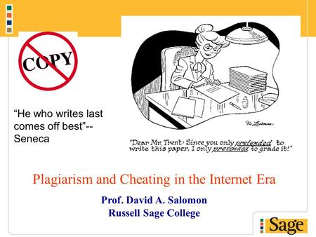 plagiarism cheating and the internet essay