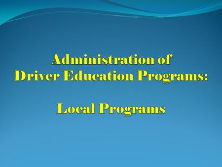 Jordan Driving School of Charlotte 11 Administrative Staff 81 Teachers 101 Vehicles Approximately 12,000 Students Taught in 2010-2011.