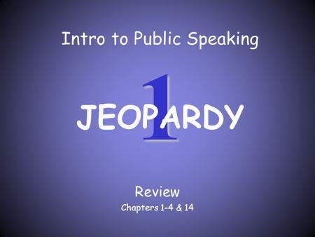 Introduction To Public Speaking Ppt Video Online Download