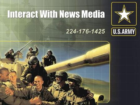 Interact With News Media Interact With News Media 224-176-1425 224-176-1425.