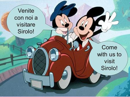 Come with us to visit Sirolo! Venite con noi a visitare Sirolo!