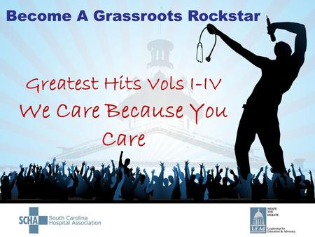 Greatest Hits Vols I-IV We Care Because You Care.