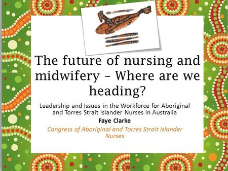 The future of nursing and midwifery – Where are we heading?